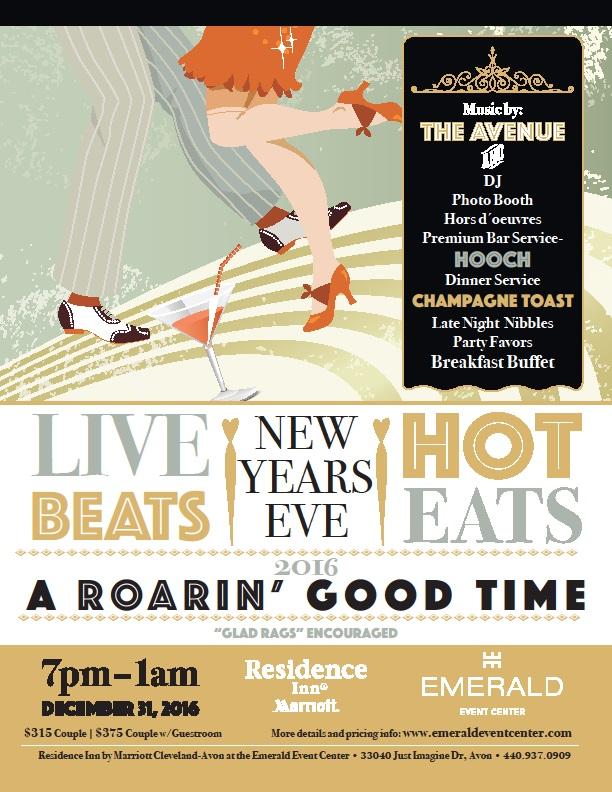 New Years Eve 2016 - Emerald Event Center - Avon, Ohio